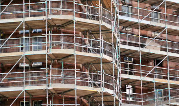 Image of scaffolding